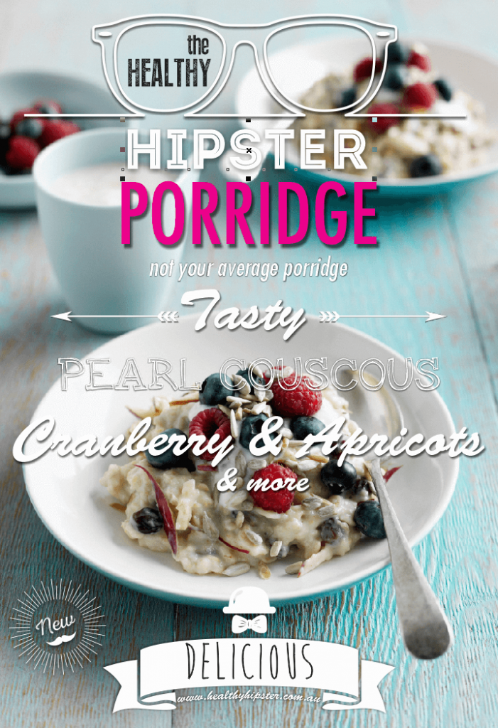 Healthy Hipster Pearl Cous Cous